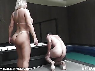 Balls Squashed by Angel Ballbusting