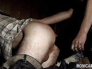 Dirty Femdom Barngirl is Fucking and Pegging - Norske Monica