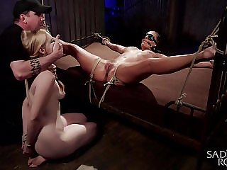 Phoenix Marie and Delirious Hunter Suffer for the Pope