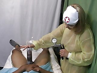 Nurse Handjob: 5 Scenes of Taking Care of Business