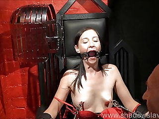 Restrained MILF Lolanis Amateur BDSM and Tied Tit Tortures O