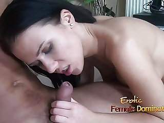 Denise Threatens to Bite off the Foreskin of Her Slave