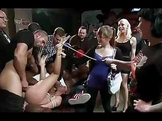 Public Disgrace, Slave and BDSM in Group