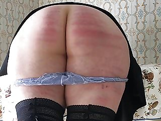 Hard Caning for an Unruly Lady