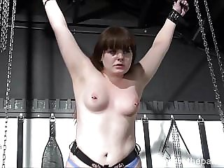 Amateur Slave Whipping and Nose Torture of Spanked
