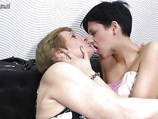 Granny Pleases Young Teen Girl
