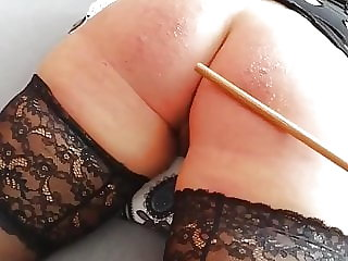 Naughty Miss A. Got a Caning
