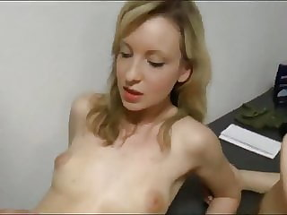 Swedish Babe  with Her Mom Sharing One Cock