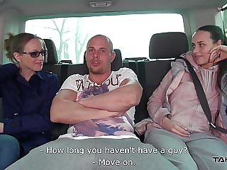 Takevan - Blonde Teen Pay Big Price for a Ride Home