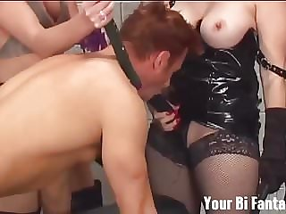 Are You Ready to Suck Your First Cock for Me