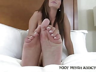 Rubbing My Perfect Feet in Your Face