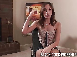 I Should Treat Myself to Some Big Black Cock