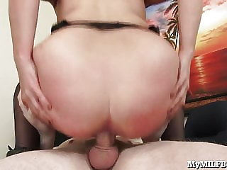 Horny MILF Boss Just Can't Get Enough