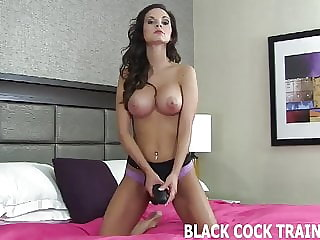 I Want You to Be Prepared for Your First Big Black Cock