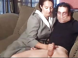 Stepmom and Stepson Affair 77 (an Embarrasing Handjob)