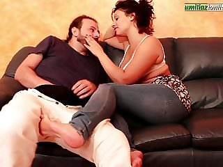 Falling in Love with Elisa Part 6 - Foot Licking