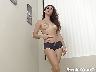 Cum All over Sunshine's Perky Tits