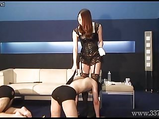 Japanese Dominatrix Risa Punishment Game