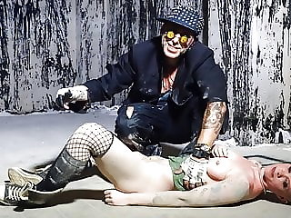 Badtime Stories - Wicked Bald Slave Girl Punished BDSM