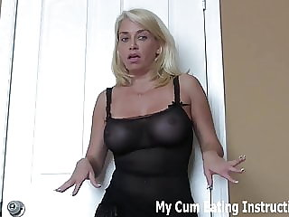 The Hot Neighbor Makes You Eat Your Own Cum CEI