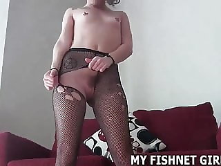 Rub Your Dick Against My Soft Fishnets JOI