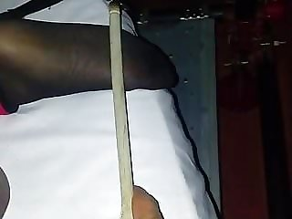 Black Slave Feet Torture Whipping and Caning 4