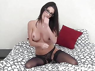 These Nude Nylon Stockings Are So Sexy JOI