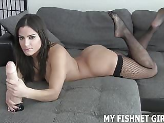 My Fishnets Will Get Your Cock Nice and Hard JOI