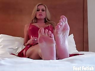 Worship My Feet Like a Good Little Foot Fetish Slave