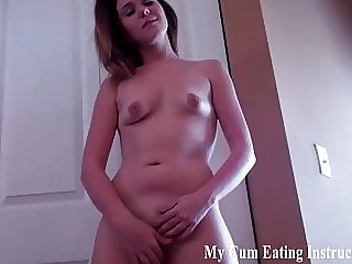 Eat a Hot Load of Sticky Cum for Me CEI