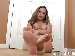 Stroke It for Soft Feet and Pedicured Toes