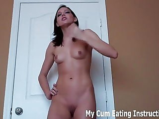 Blow Two Loads of Cum and Eat Them Both Up CEI
