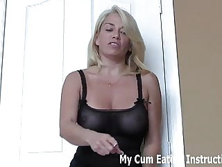 Cum in This Cup and Swallow It All Down CEI