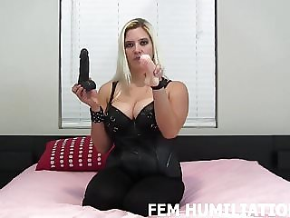 I Am Going to Double Fuck You with These Dildos