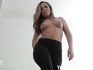 I Want to Sit on Your Hard Cock in My Yoga Pants JOI