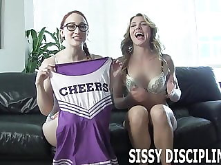 I Will Turn You into a Slutty Sissy Cheerleader
