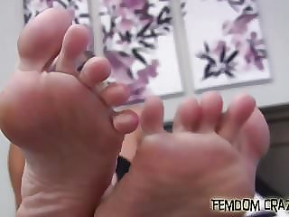 Worship My Feet with Your Tongue