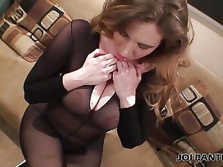 I Love the Silky Black Panties You Bought Me JOI