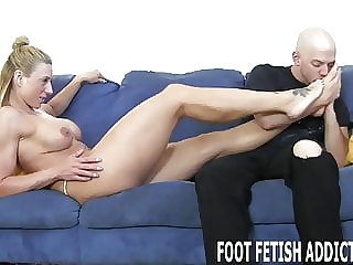 Get on the Ground and Start Worshiping My Feet