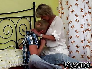 MILF Likes to Ride Young Man