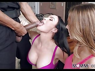 Threesome with Black Police Officer