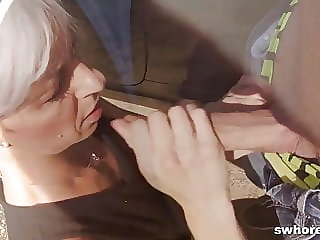 Mature Street Hooker Fucks Hard for Her Money in POV