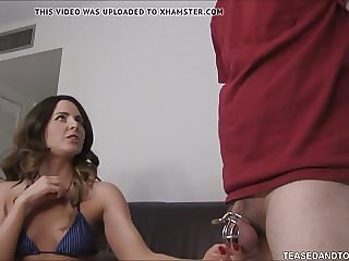 Step Mom Makes Step Son Wear Chastity