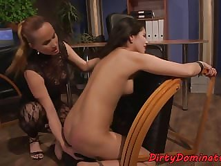 Bigbooty Eurobabe Spanked and Tormented