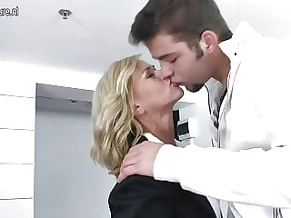 Mother Getting Fucked by Her Son's Friend