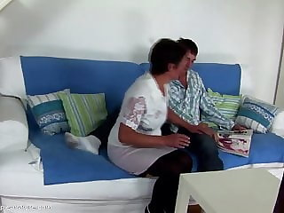 Taboo Home Story Not Mom Gets Creampie from Not Her Son