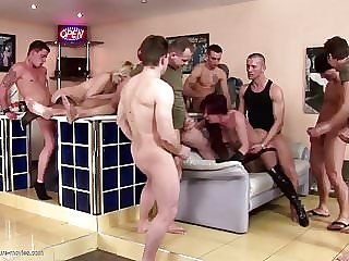 Posh Moms Fucked in All Holes and Pissed on
