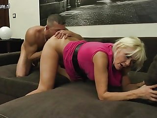 Real Mother Fucking and Sucking Young Cock